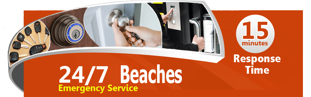 Locksmith service Beaches
