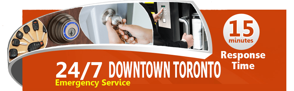 Locksmith service Downtown toronto