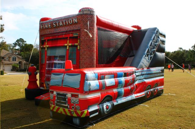 INFLATABLE FIRE STATION COMBO Rentals Columbia MO Where