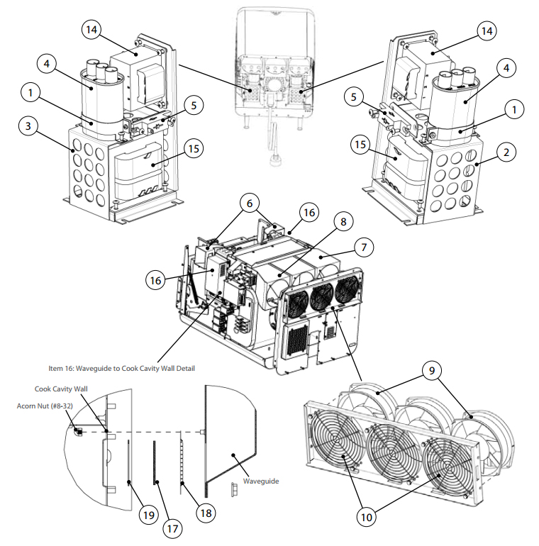 Xbox 360 Cooling Fan Schematic