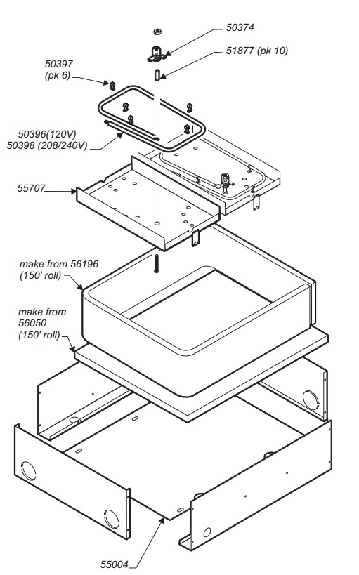 Wells WS-50374 Thermostat Hi-Limit