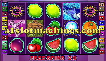 Elementals Slots - Bonus Free Spins