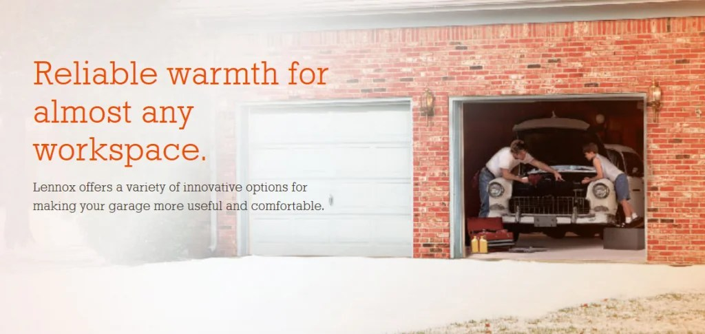 Lennox Garage Heaters  Heating and Air Conditioning Omaha  A1 United Heating Air Conditioning