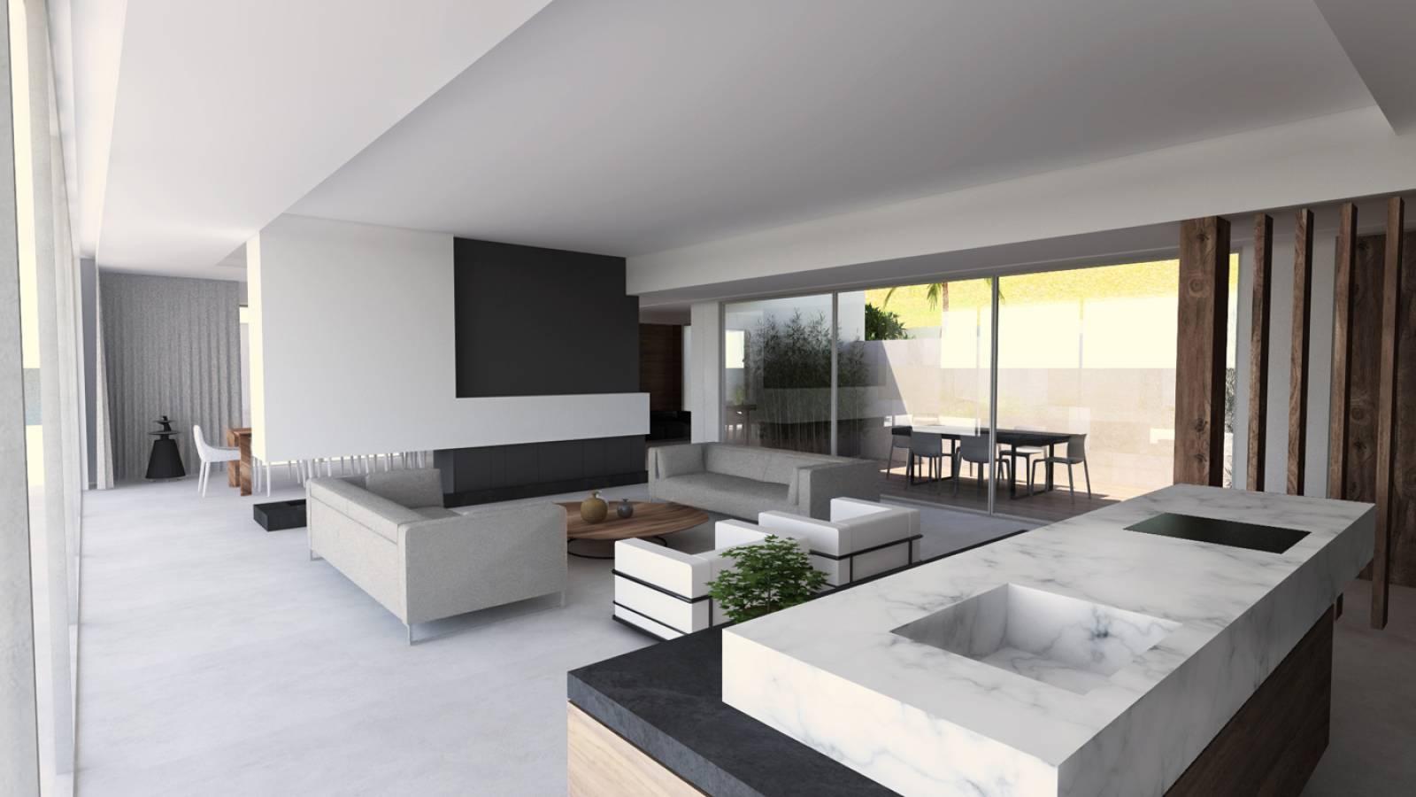 Architecture intrieure de la villa contemporaine E  SainteMaxime dans le Var  Architecte  a2Sb