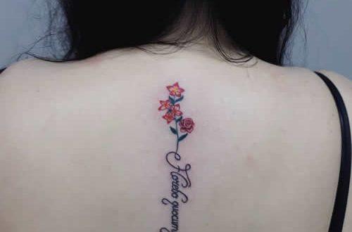 Flower Tattoo Designs For Women Back