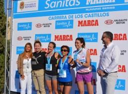 7 Oct 2018 Marisa Gayo, en el podio femenino del 10KF F21