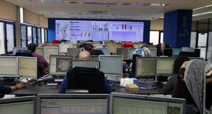 El teléfono 1·1·2 Comunitat Valenciana gestiona 1.303 incidencias durante la noche de Sant Joan