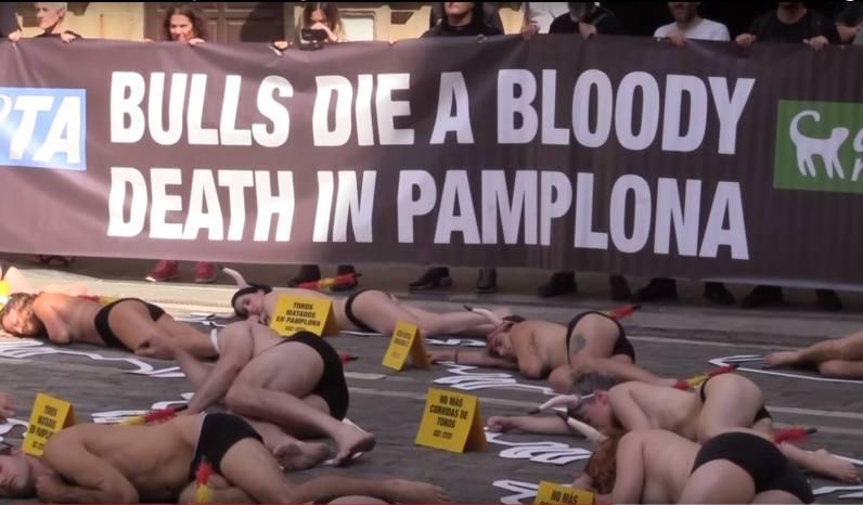 protesta antitaurina...