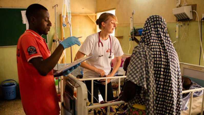 MSF Nigeria atiende a miles de desplazado en la ciudad de Anka MSF/ Benedicte Kurzen/Noor