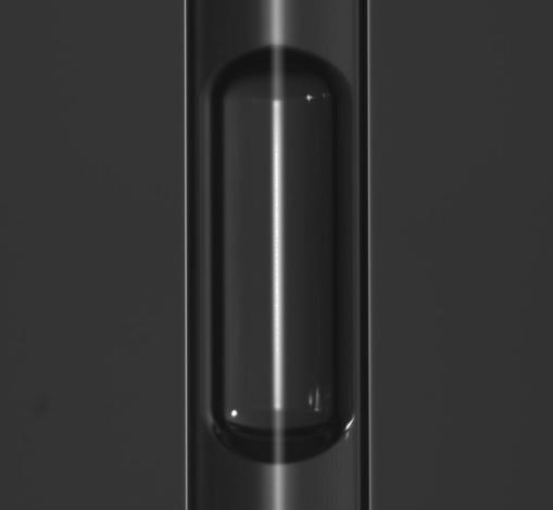 Burbuja de aire atrapada en un tubo de ensayo - EPFL