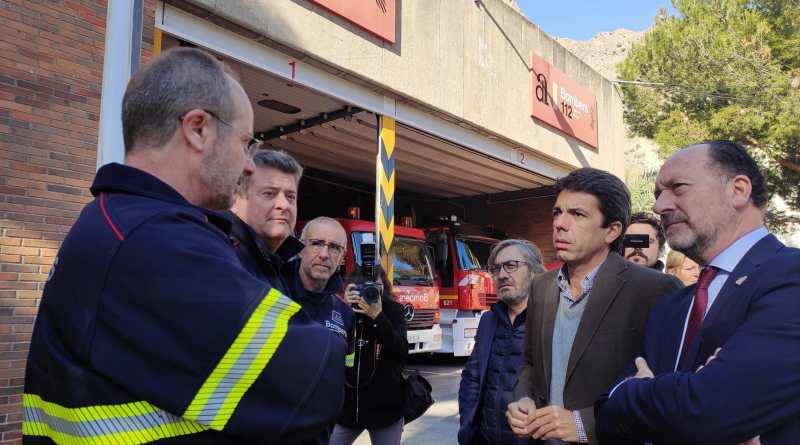 El Ayuntamiento de Orihuela cederá a la Diputación de Alicante los terrenos para la construcción del nuevo Parque de Bomberos de Orihuela
