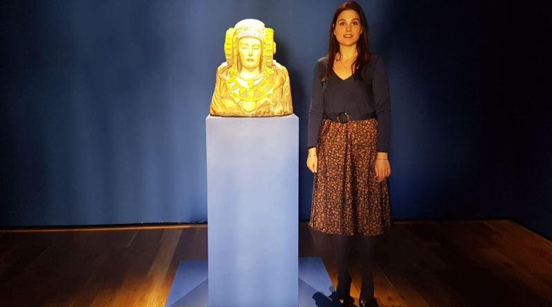 La Torre del Homenaje renueva su exposición temporal con dos esculturas inspiradas en la Dama