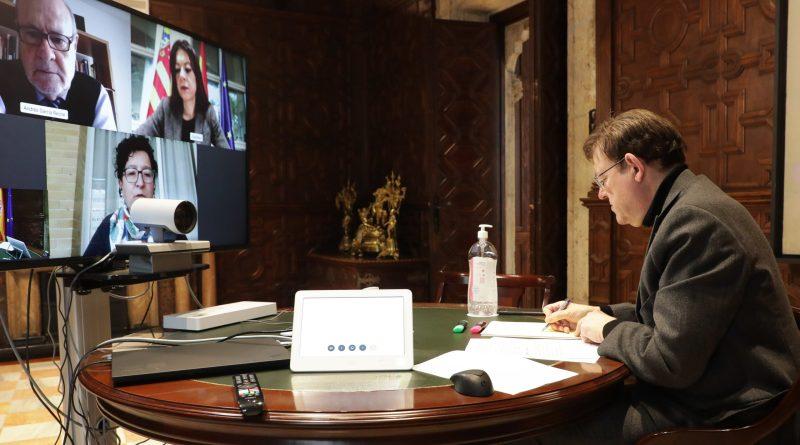Ximo Puig insta por carta a 329 líderes regionales europeos a que alcen su voz ante la UE frente a 'la mayor emergencia desde la Segunda Guerra Mundial'