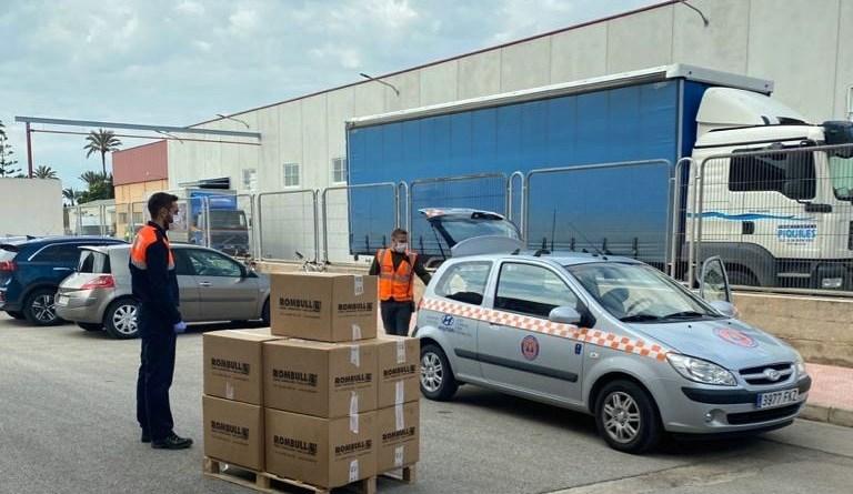 Rombull dona 9.000 metros de goma elástica para la fabricación de mascarillas de protección