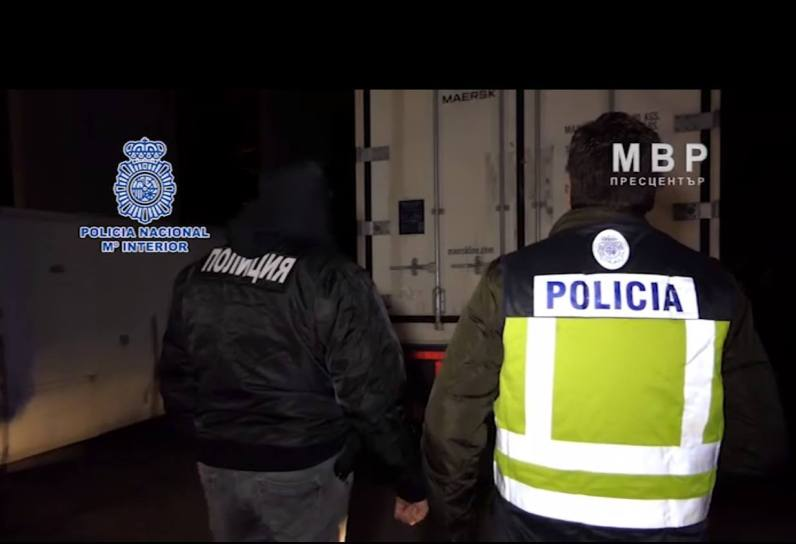Policia nacional camion droga