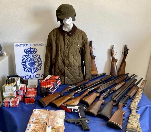 La Policía Nacional detiene en Murcia a un atracador de bancos que se hizo con un botín de 170.000 euros