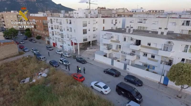 Desmantelada una red de venta de drogas en Murcia con 71 detenidos