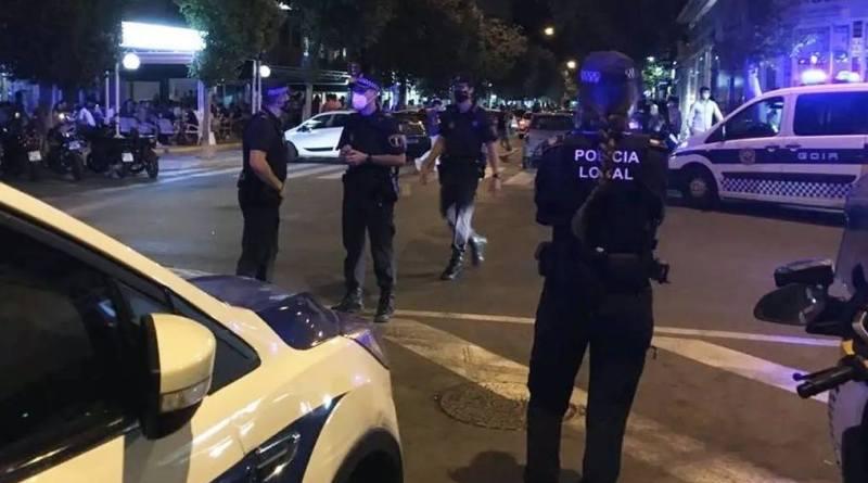 La Policía Local de Elche detiene a un hombre como presunto autor de un delito de atentado a un agente de la autoridad
