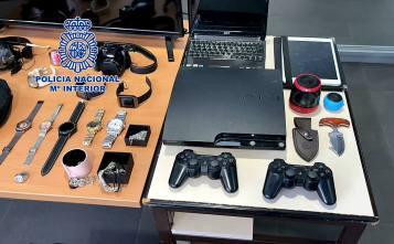 La Policía Nacional detiene a cuatro personas integrantes de un grupo 1