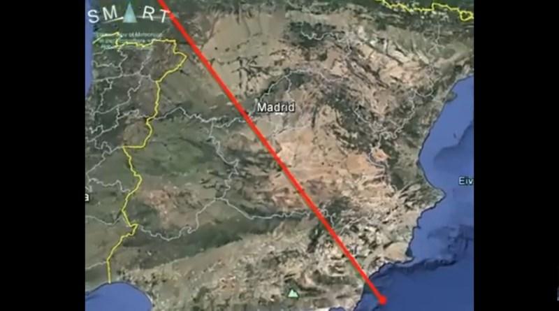 Impresionante bola de fuego sobre España el 16 de abril