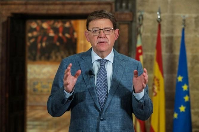 Ximo Puig anuncia el inicio de una nueva etapa de 'apertura progresiva' en la superación de la pandemia que 'ya no tendrá marcha atrás' gracias a la vacunación