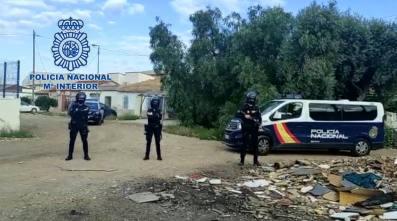 La Policía Nacional desarticula dos puntos negros de droga en Alicante y San Vicente dedicados