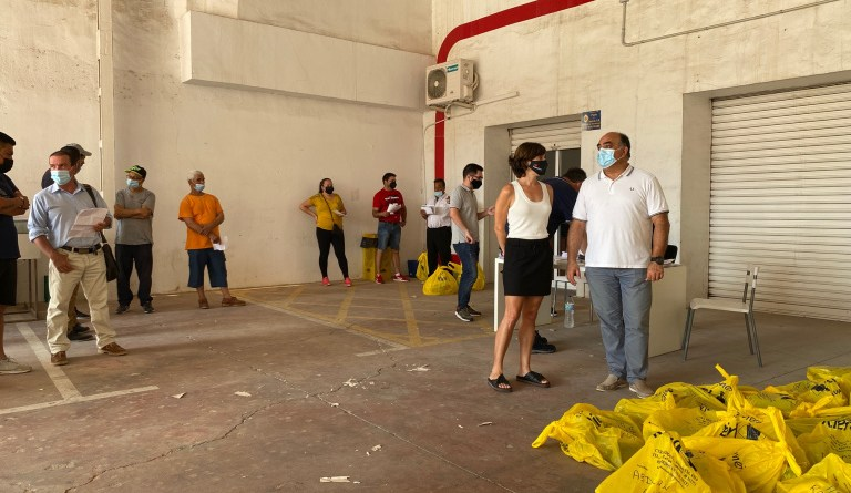 El Ayuntamiento de Orihuela contrata a 99 desempleados agrícolas