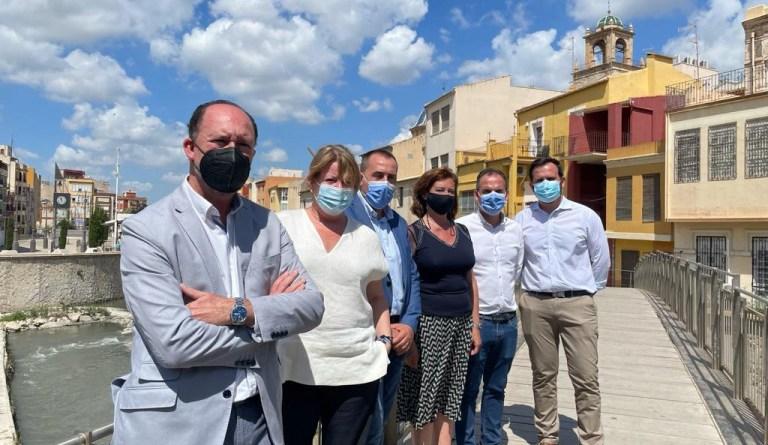 """Murcia y a Almería"""", ha señalado el alcalde oriolano"""