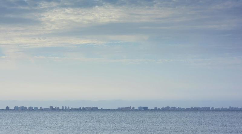 Vista de La Manga del Mar Menor. FRAN CARRASCO