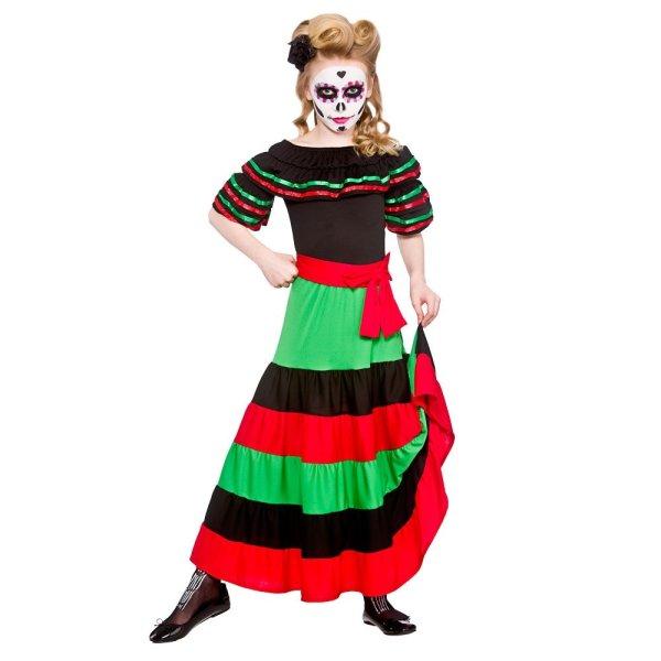 Kids Day Of Dead Mexican Muertos Halloween