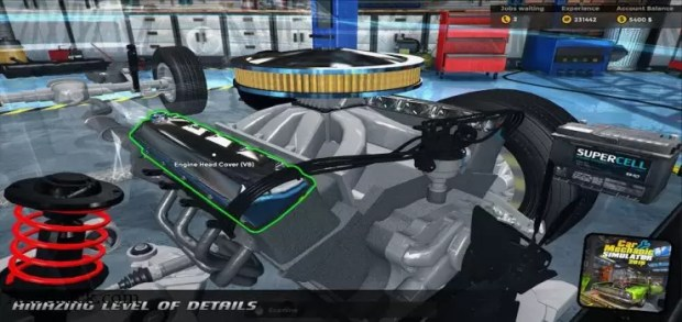 Car Mechanic Simulator 2015 NO-DVD Crack