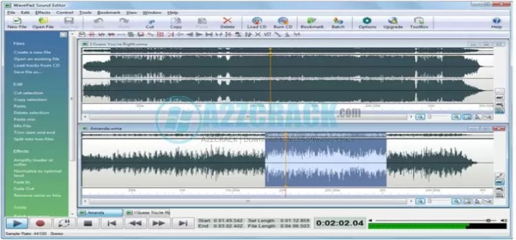 WavePad Sound Editor Full Version