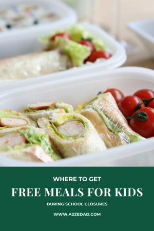 Free Meals for Kids During School Closures