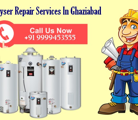 Gas Geyser Repair Services in Ghaziabad