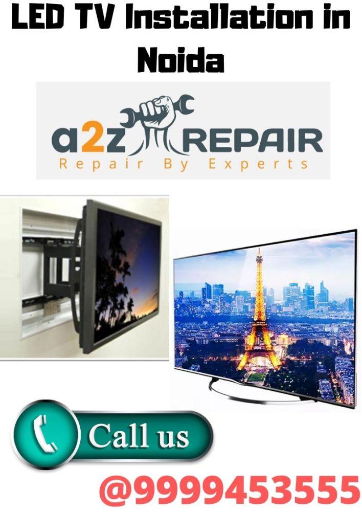 LED TV Installation in Noida
