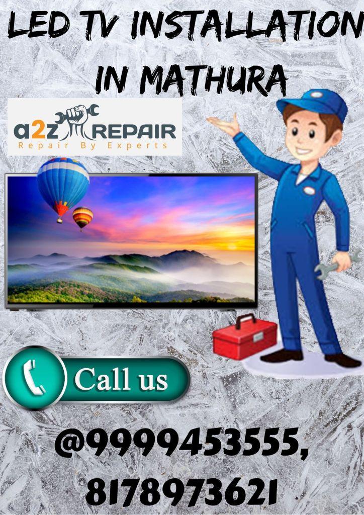 LED TV Installation in Mathura