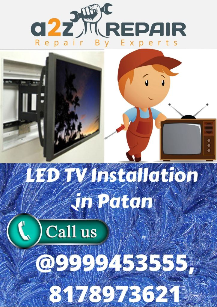 LED TV Installation in Patan