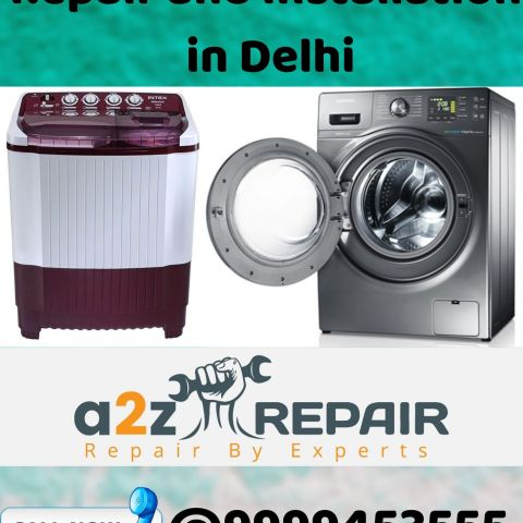 Washing Machine Repair and Installation in Delhi