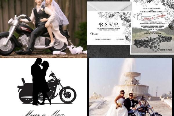 A2zweddingcards- Motorcycle Based Wedding Invitation