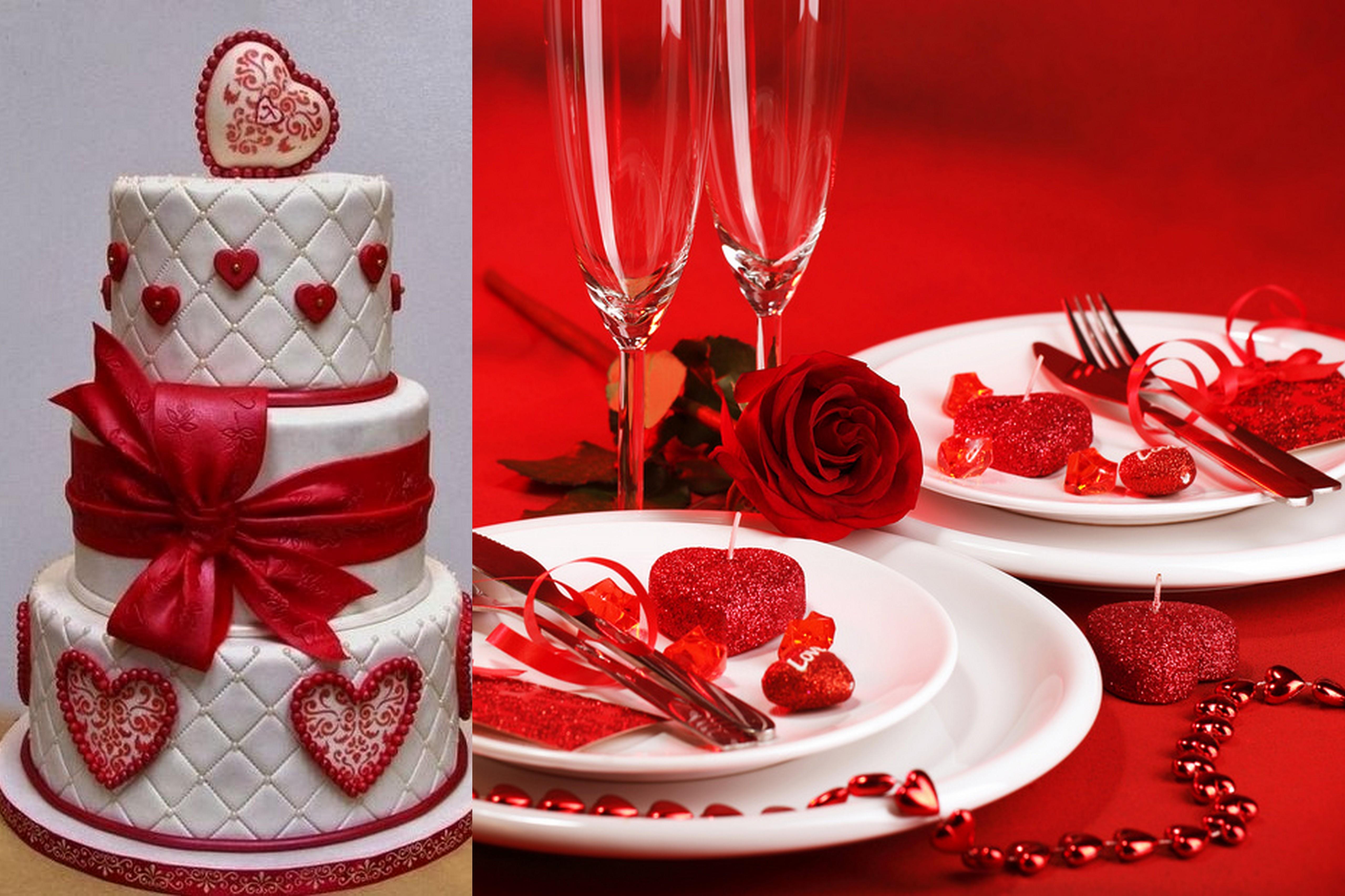 Valentine Themed Wedding