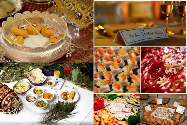 Indian NRI Wedding Food