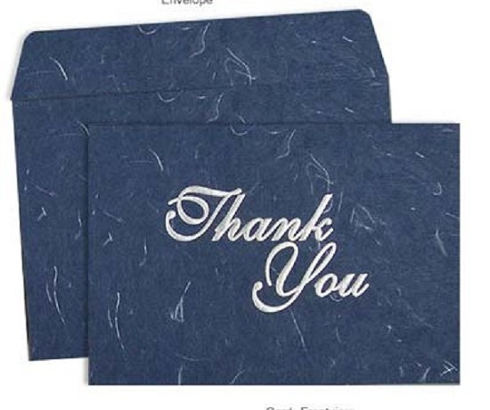 Thank You Wedding Cards