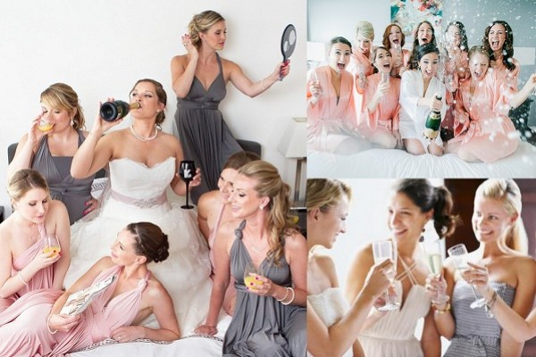 Treats Bridesmaids Like Friends