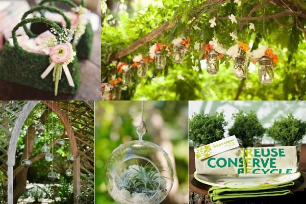 Eco-Friendly Wedding Decor and Centrepieces