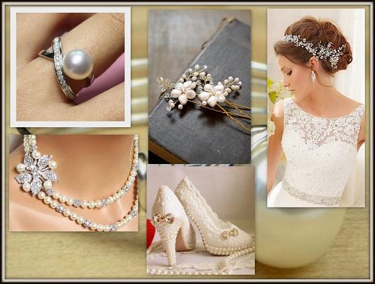 Oyster Pearl Wedding Accessories-A2zWeddingCards