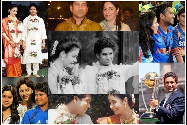 Sachin Tendulkar and Anjali Tendulkar - A2zWeddingCards
