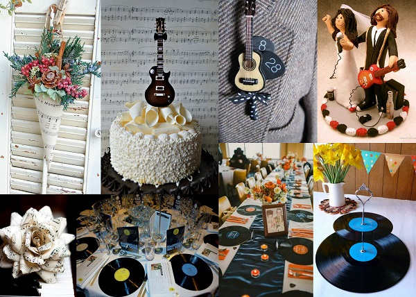 Rock your Big Day with these Musical Theme Wedding Ideas - Decor