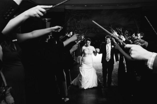 Grand Exit - Harry Potter Theme Wedding Ideas