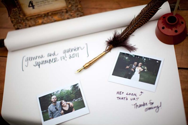 GuestBook - Harry Potter Theme Wedding Ideas