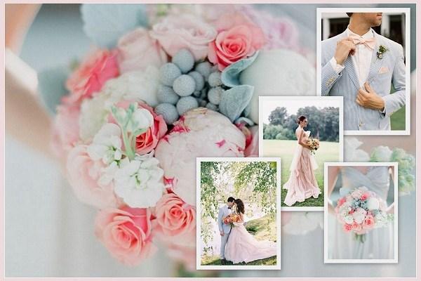 Pantone Inspired Spring Wedding Bride & Groom 2016 - A2zWeddingCards